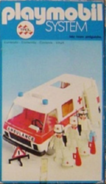Playmobil 23.25.4v1-trol - Ambulance - Box