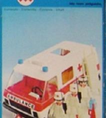 Playmobil - 23.25.4v1-trol - Ambulance