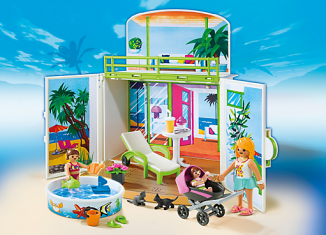 Playmobil - 6159 - Secret Beach Bungalow Play Box