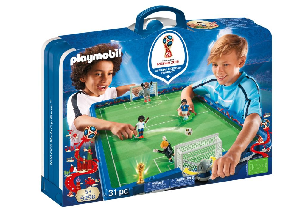 Playmobil 9298 - Take Along 2018 FIFA World Cup Russia™ Arena - Box