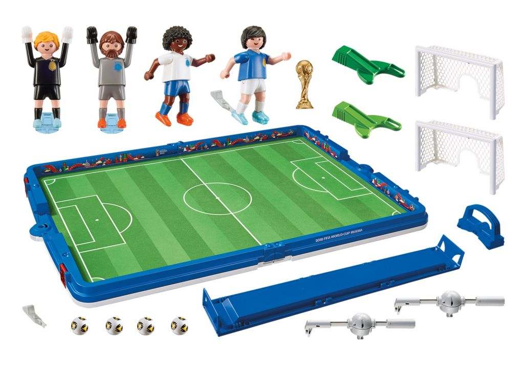 Playmobil 9298 - Take Along 2018 FIFA World Cup Russia™ Arena - Back