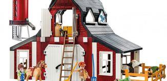 Playmobil - 9315-usa - Barn with Silo