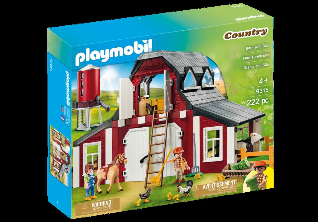 Playmobil 9315-usa - Barn with Silo - Box