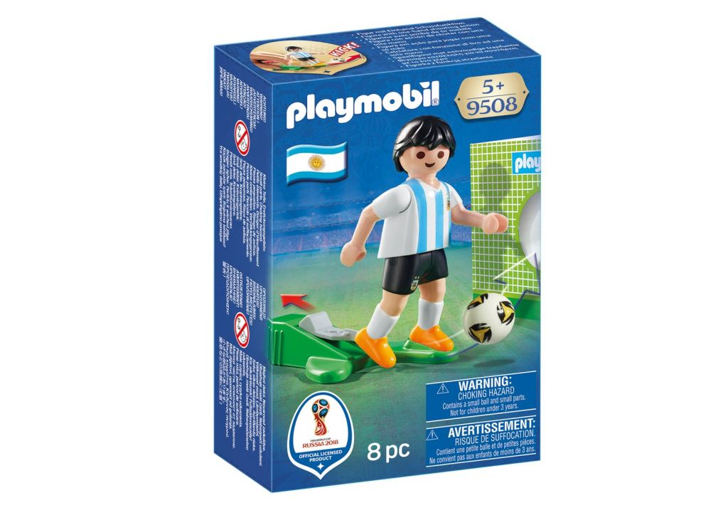 Playmobil 9508 - Soccer Player Argentina - Box