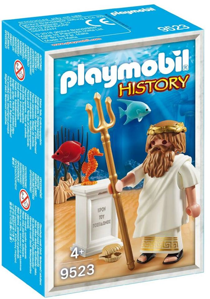 Playmobil 9523 - Poseidon Greek God - Box