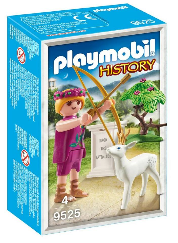 Playmobil 9525-gre - Artemis Greek Goddess - Box