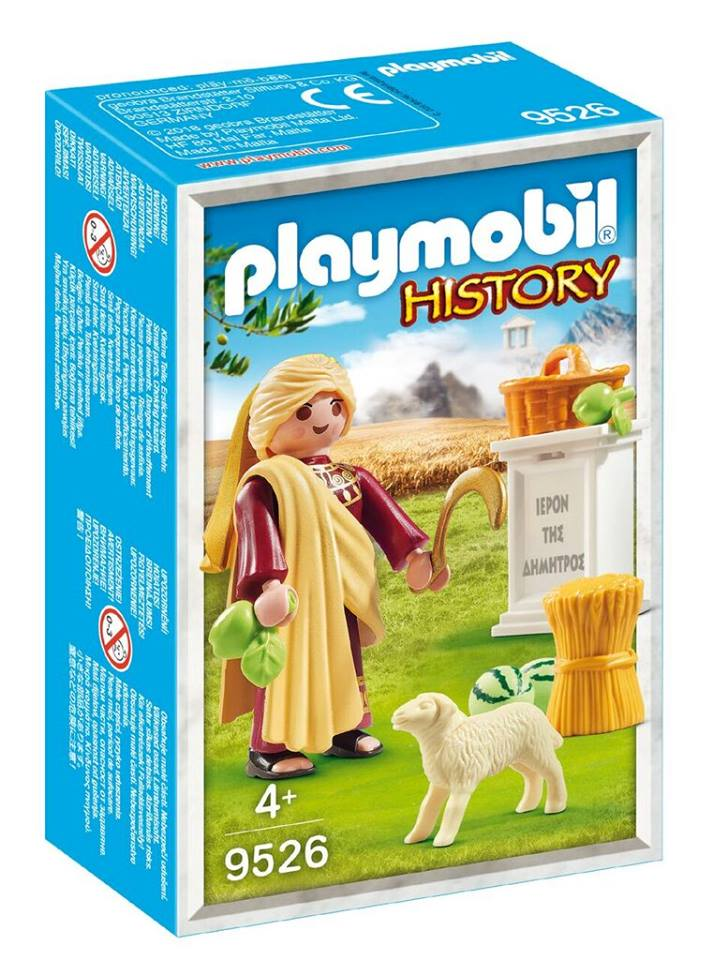 Playmobil 9526-gre - Demetra Greek Goddess - Box