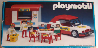 Playmobil - 23.87.2-trol - Franky's street food