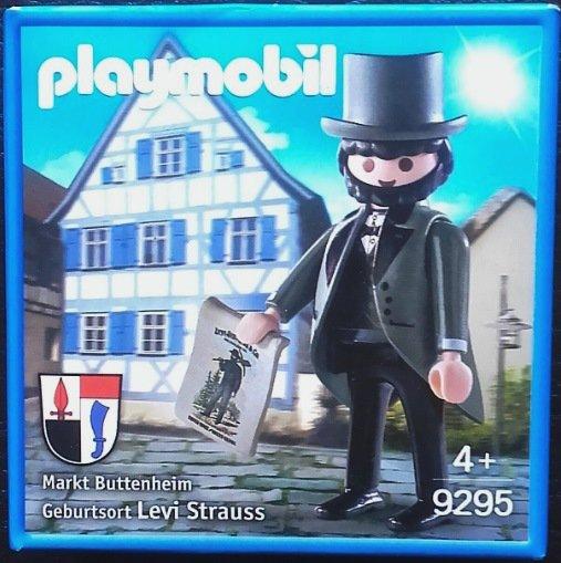 Playmobil 9295-ger - Levi Strauss - Box