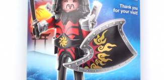 Playmobil - 0000-ger - Nüremberg Toy Fair Give-away Asian Warrior