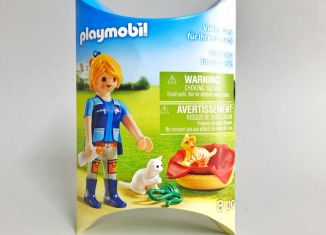 Playmobil - 2018-01NUR - Caregiver with cats