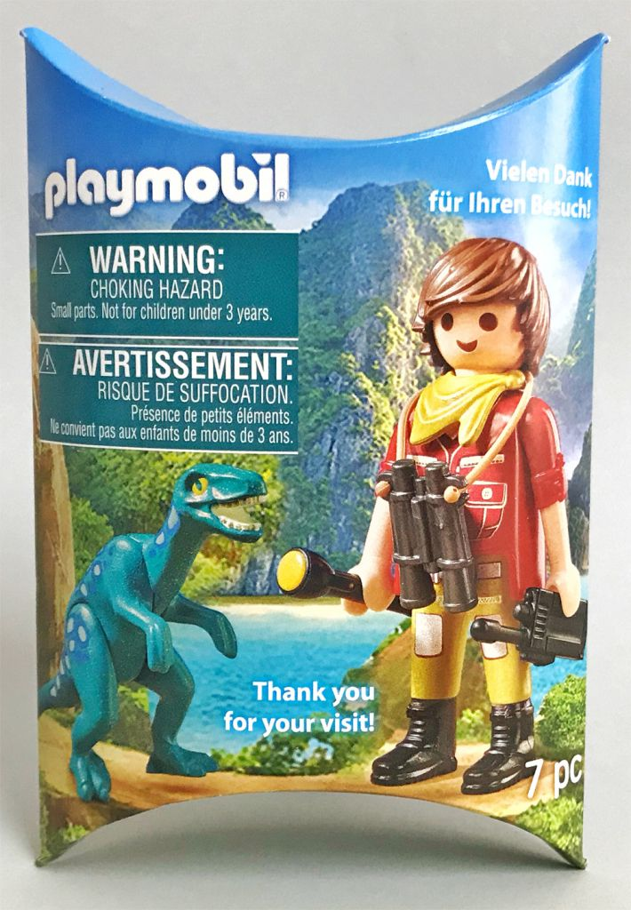 Playmobil 2018-02NUR - Explorer with dinosaur breeding - Box