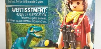 Playmobil - 2018-02NUR - Explorer with dinosaur breeding