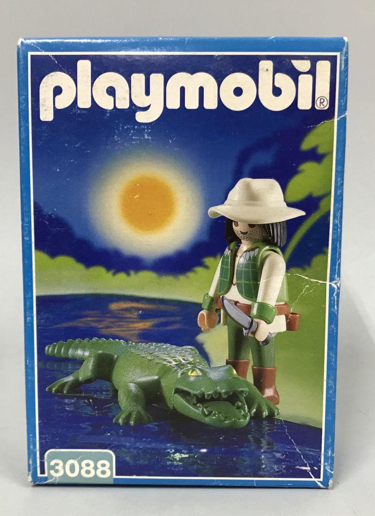Playmobil 3088-esp - Alligator Ravine - Box