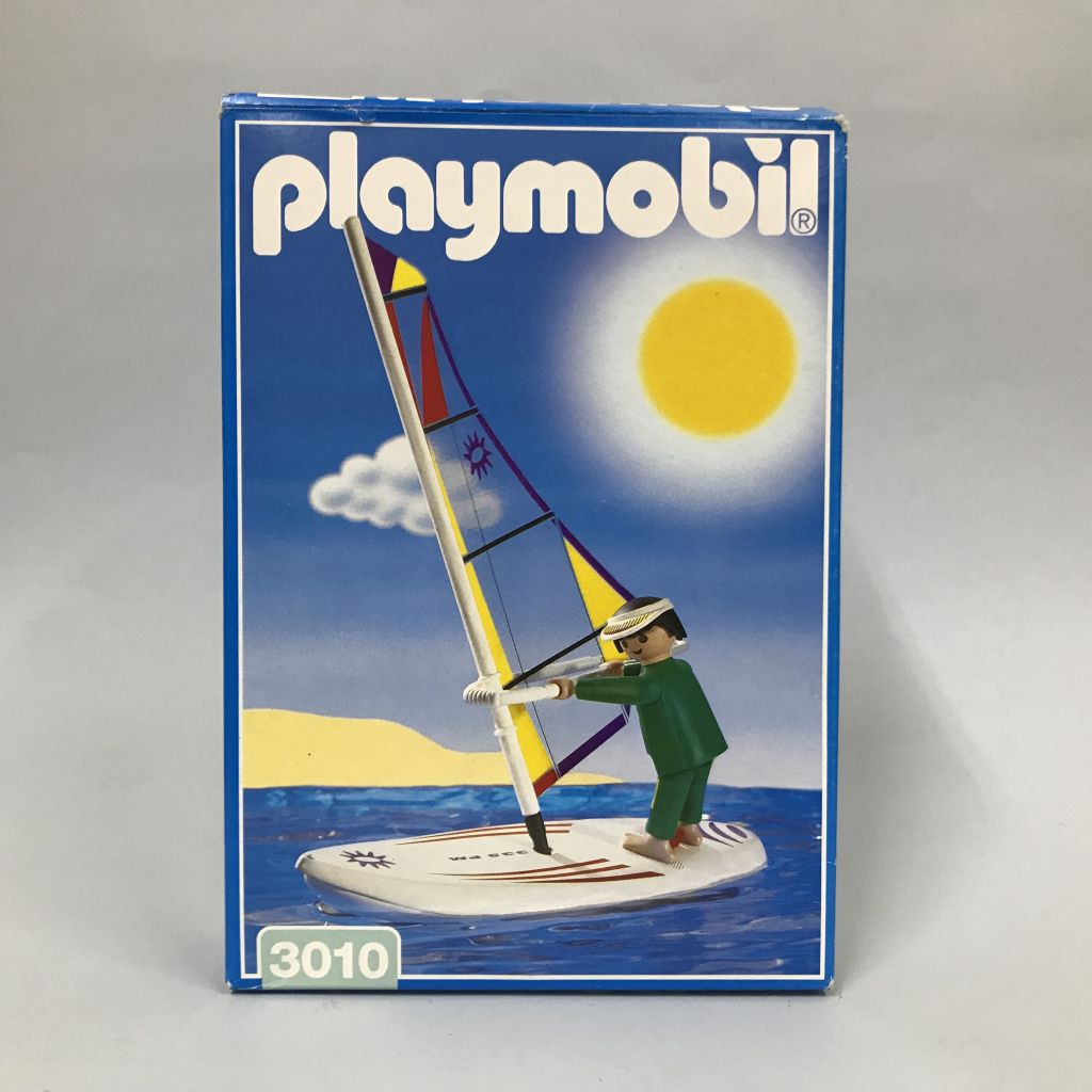 Playmobil 3010 - Windsurfer - Box