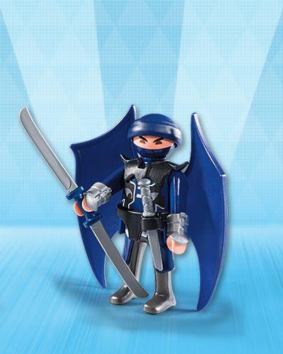 Playmobil 5598v12 - Flying Ninja - Back