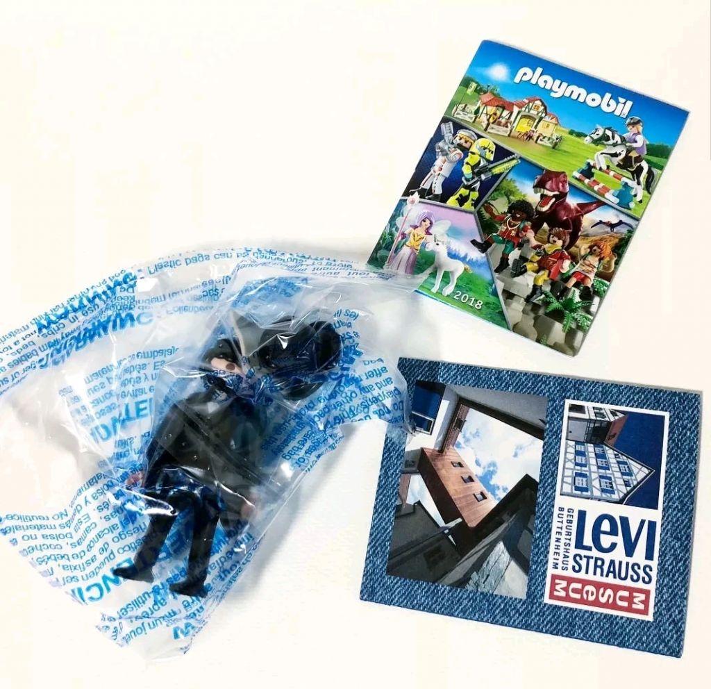 Playmobil 9295-ger - Levi Strauss - Back