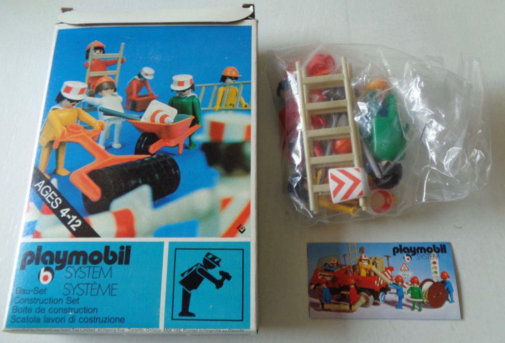 Playmobil 3201-can - Construction set - Back