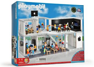 Playmobil - 1984 – Apple Store