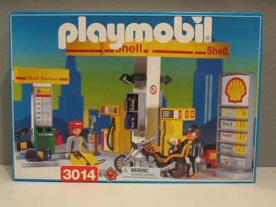 Playmobil 3014 - Gas Station - Box