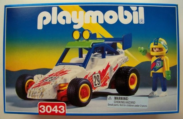 Playmobil 3043 - Off-Road Racer - Box