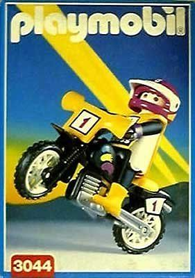 Playmobil 3044 - Moto-Cross Rider - Box