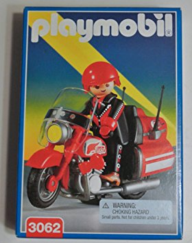 Playmobil 3062 - Highway Motorcycle - Box