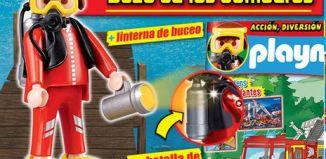 Playmobil - R030-30790824-esp - Diver Firefighter