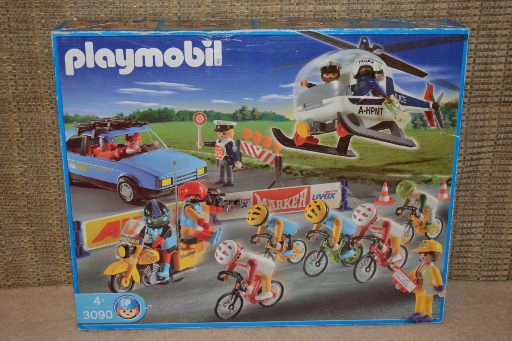 Playmobil 3090-esp - Vuelta Cycling Tour - Box