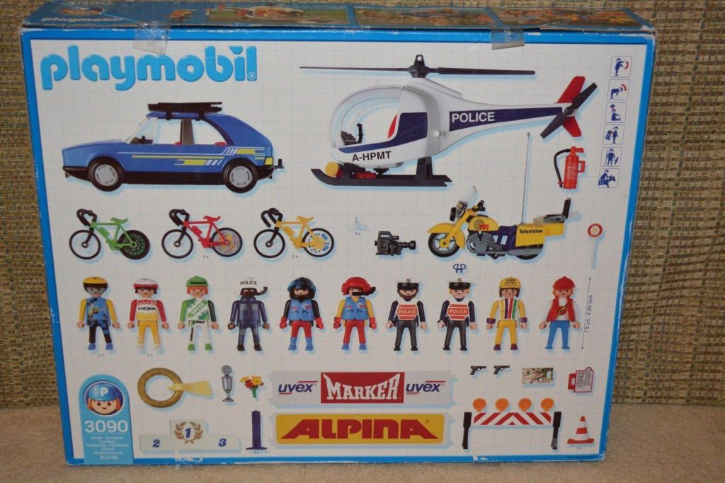 Playmobil 3090-esp - Vuelta Cycling Tour - Back