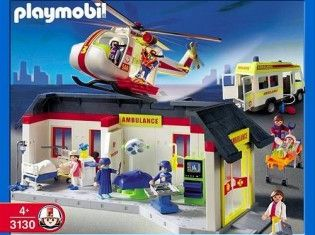 Playmobil - 3130s3 - Ambulance Medical Center