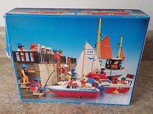 Playmobil 3142 - Motorboat - Back