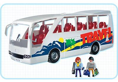 Playmobil 3169 - Travel Bus - Back