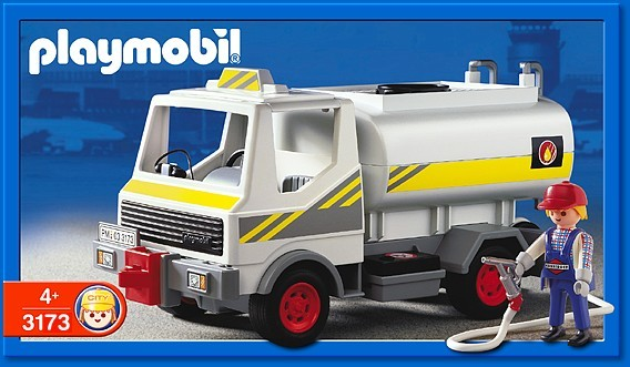 Playmobil 3173 - Fuel Tanker - Box