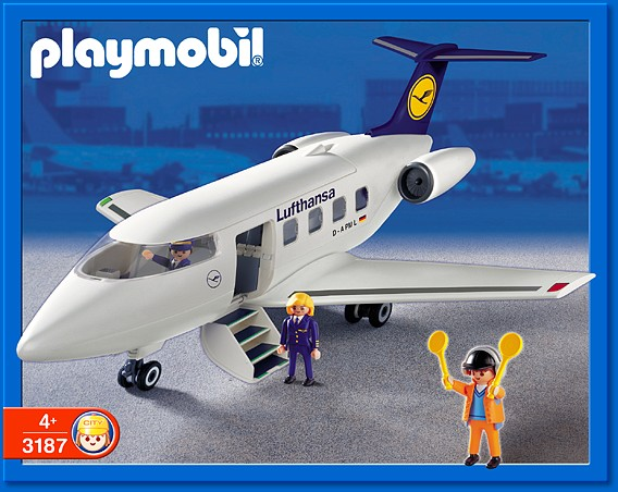 Playmobil 3187s2 - Airline Lufthansa - Box