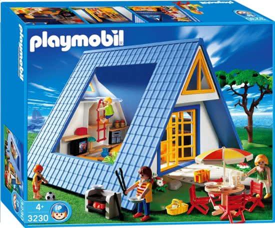 Playmobil 3230s2 - Family Vacation Home - Box