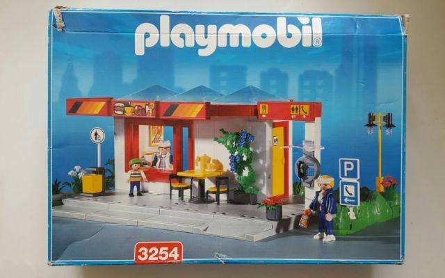 Playmobil 3254s2 - Café - Box