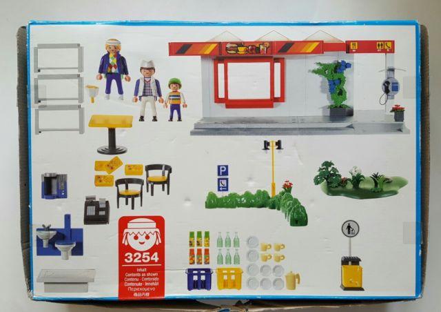 Playmobil 3254s2 - Café - Back