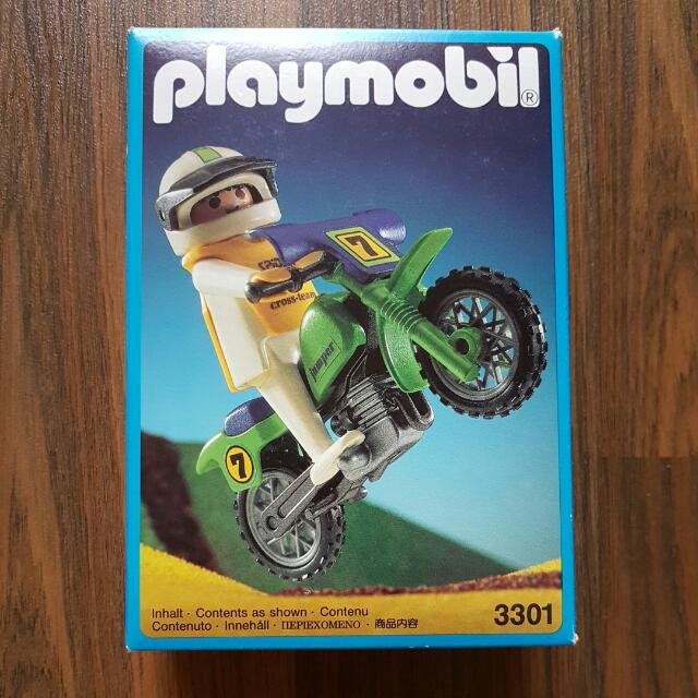 Playmobil 3301 - Off-Road Motorcycle - Box