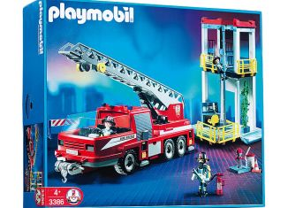 Playmobil - 3386s2 - Fire Tower and Truck
