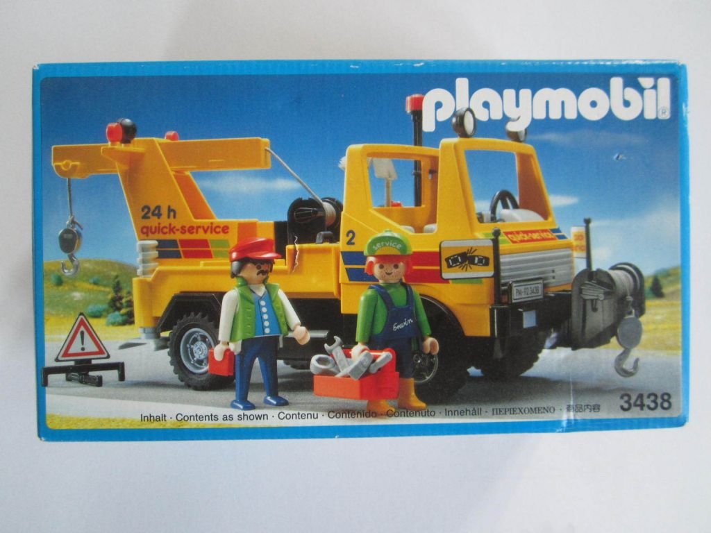 Playmobil 3438 - Tow Truck - Box