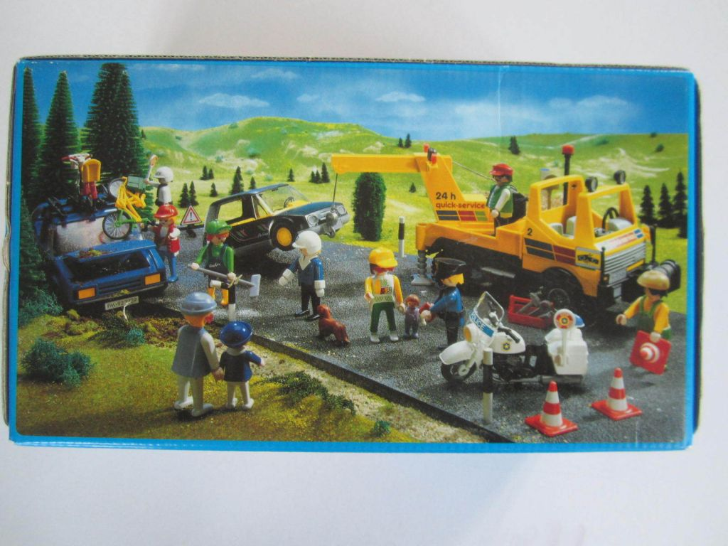 Playmobil 3438 - Tow Truck - Back