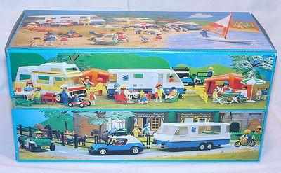 Playmobil 3588 - Caravan - Back