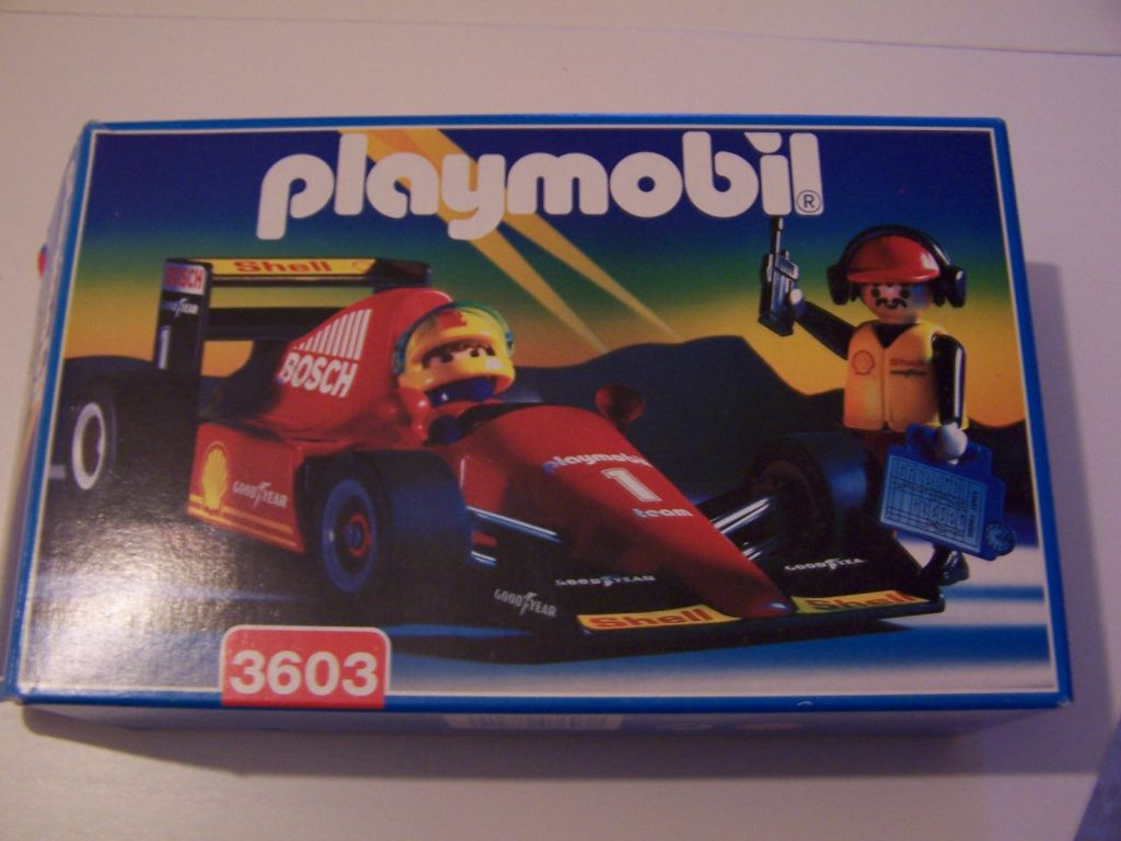 Playmobil 3603v2 - Formula 1 Racing Car - Box