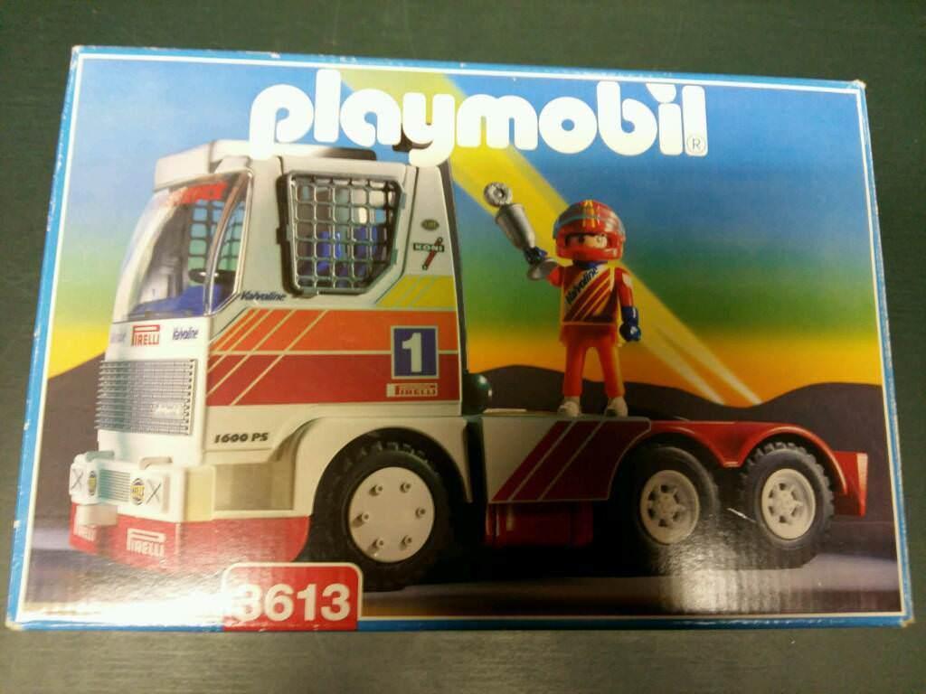 Playmobil 3613 - Racing Truck - Box