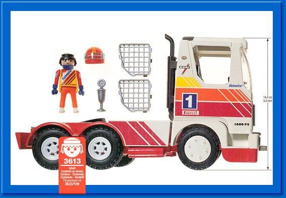 Playmobil 3613 - Racing Truck - Back