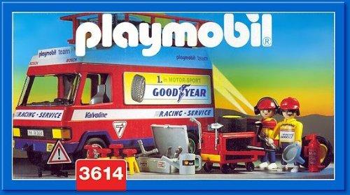 Playmobil 3614 - Racing Service Truck - Box