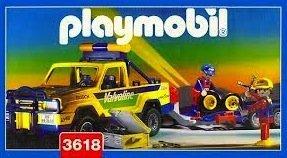 Playmobil 3618 - Off-Road Service Vehicle - Box
