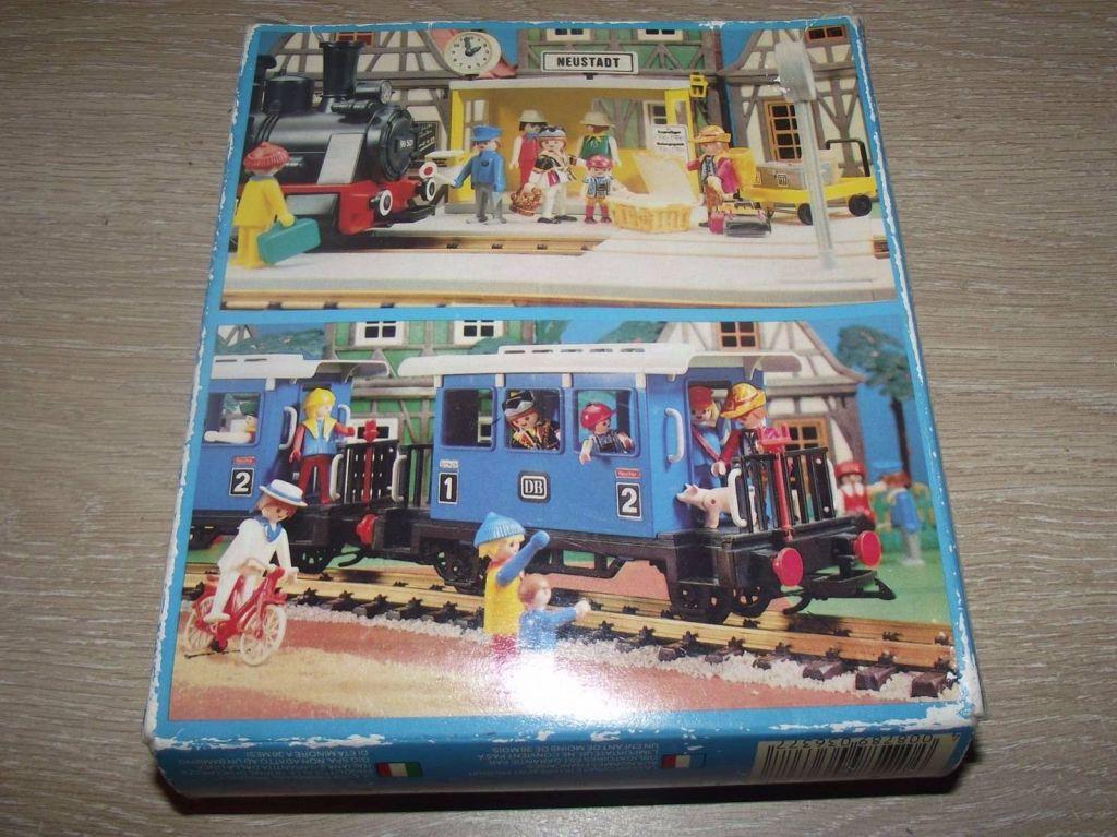 Playmobil 3637 - Train passengers - Back
