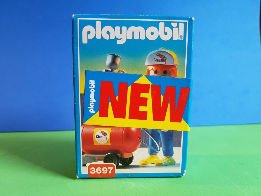 Playmobil 3697 - Spray Painter - Box